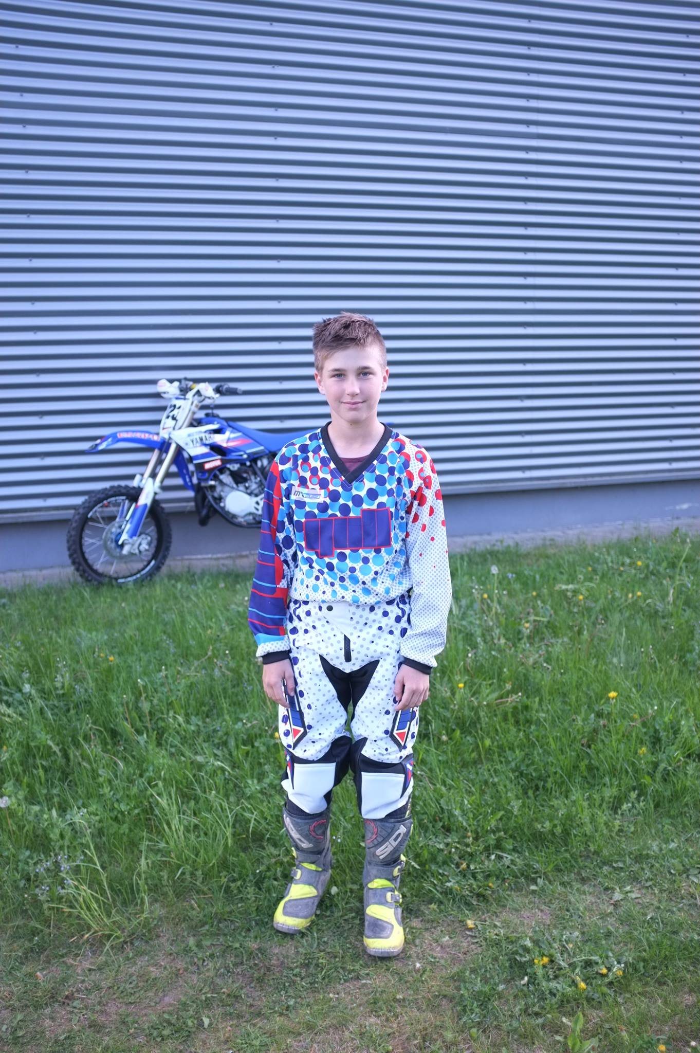 Gull motocross gear Ugnius Liulys