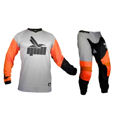 Gull 19 Orange Motocross Gear Combo